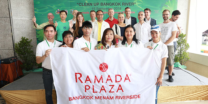 Clean Up Bangkok River 2018