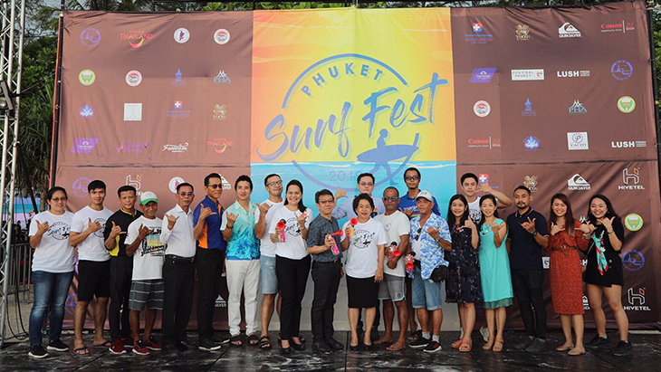 Phuket Surf Fest 2019 kicked off
